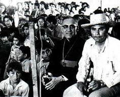 civil war el salvador 1980 | Romero with the Salvadoran people.  This saint of a man has been the inspiration for my senior thesis on U.S. sponsored propaganda vs the realities of the Salvadoran civil war.