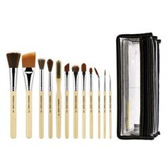 BdelliumTools SFX Brush Set 12 pc. with Double Pouch (1st Collection)