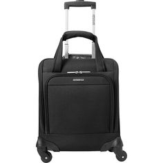 "American Tourister Lynnwood 16"" Underseat Spinner Carry-On - eBags Exclusive - eBags.com"