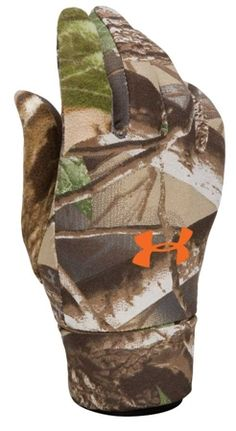 Under Armour ColdGear Liner Hunting Gloves at MacksPW.com