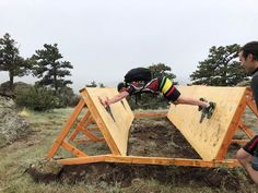 CerusRuk Offers A Unique OCR Outside Fort Collins, Colorado - CerusRuk is expanding the obstacle racing offerings in Colorado with their obstacle/ruck/nin - Backyard Gym, Backyard Obstacle Course, Kids Obstacle Course, Ninja Warrior Course, American Ninja Warrior, Fitness Trail, Ropes Course, Outdoor Gym, Tough Mudder