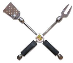 4-Way Grilling Wrench by Pit Crew Barbeque. $64.99. Fork Tightens Removable Tips. Heavy Duty Bottle Opener. Spatula with Sharp Cutting Edges. Easy to Handle Rubber Grips. Tool Quality Construction - Stainless Tips. When seconds count you need the right tools. The 4-Way Grilling Wrench is a barbecue must. Great for the tailgater at home or in the parking lot. The 4-Way Lug Wrench design is a garge must. Buy it for your favorite gear head or racing fan. A Tailgat...
