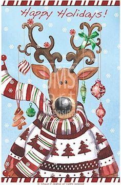 JEN2417  Peppermint_Reindeer_Christmas_Sweater