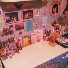 Beautiful desk area.