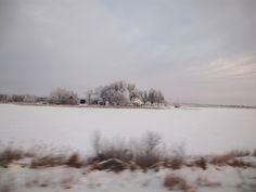 Nebraska in winter