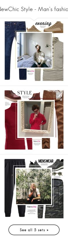 """""""NewChic Style - Man's fashion"""" by mymilla on Polyvore featuring Oxford, men's fashion, menswear, Oliver Peoples e Nico"""