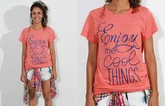 Resultado de imagem para t shirt feminina com frases