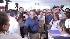 GradoCeroPress  Corte de liston del nuevo hospital y aspectos recorrido ...