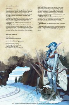 Homebrewing races DnD Homebrew Atrial Race by Brynvalk Dungeons And Dragons Races, Dungeons And Dragons Classes, Dungeons And Dragons Homebrew, Dungeons And Dragons Characters, Dnd Characters, Dnd 5e Races, D D Races, Mythological Creatures, Mythical Creatures