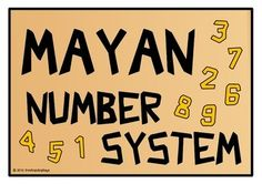 With a title page, here is a printable set of cards that reveal numbers from 0 to 20 in the ancient system of the Maya/ Mayan civilization. Great for any class learning about this topic, serving as additional resources! Visit our TpT store for more information and for other classroom display resources by clicking on the provided links