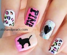 Smiley face nail art nails pinterest smiley face and funky the new vs pink store is awesome prinsesfo Image collections