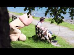 A Giant Penis Mascot Surprises, Shoots Confetti At People To Promote Safe Sex - DesignTAXI.com