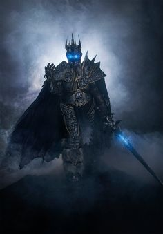 Arthas the Lich King cosplay by EnotArt