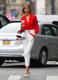 Look! Красная блуза! 0