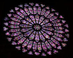 Rose Window in Notre Dame
