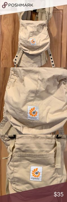 c2ef4c802cb Petunia Pickle Bottom ERGO Baby Carrier. ERGO original carrier Euc. Hardly  used. Two very small stains (pictured) on