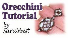 Sarubbest: tutorial orecchini con perline - Come fare orecchini Fabergé