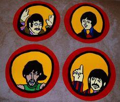 Beatles Porthole Rugs