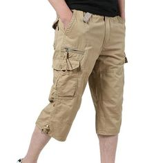 2018 Fashion Pocket Summer Pants Men Cotton Casual Loose Thin Cropped Trousers Plus Size harem pants Pantalon Homme Men Trousers, Cropped Trousers, Men Pants, Plus Size Harem Pants, Casual Pants, Men Casual, Summer Pants, Mens Tops, Pocket