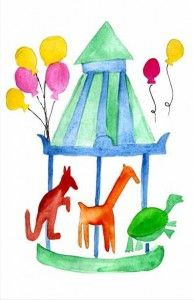 Free Birthday Cards To Print For Kids - The Animal Carousel