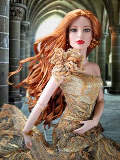 Finally, a doll with NATURAL red hair. All the other dolls with red hair are so unrealistic color-wise