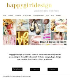 Make your brand beautiful http://www.happygirldesign.com