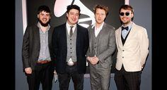 Mumford & Sons sloppy #Grammy's