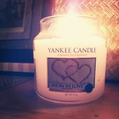 New Yankee Candle Snow in Love