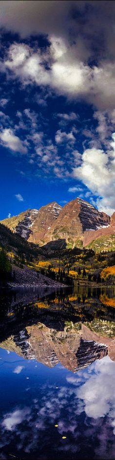 ♥ maroon bells near aspen colorado