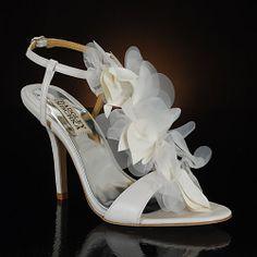 Badgley Mischka wedding shoes!