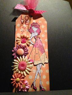 Pink hair ROCKS!  Anne Gillis