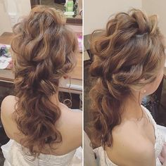 59 Super Ideas For Wedding Party Hairstyles Updo Bridesmaid Party Hairstyles, Bride Hairstyles, Messy Hairstyles, Hair Arrange, Hair Setting, Let Your Hair Down, Asian Hair, Bridesmaid Hair, Hair Designs
