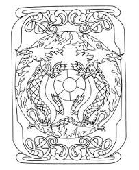 Resultado de imagen para mandalas de dragones para pintar