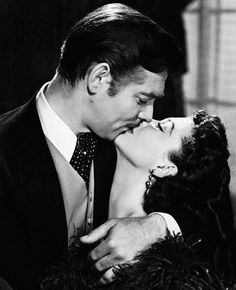 vivienaudreymarilyn: Vivien Leigh and Clark Gable in Gone with the Wind