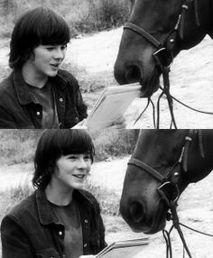 Chandler Riggs  / Carl Grimes