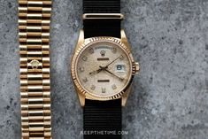 Rolex 18238 Day-Date President [Anniversary Diamond Dial]