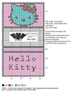HELLO KITTY CHECKBOOK COVER by CANDY'S PC CREATIONS