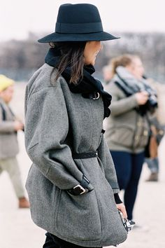 French Girl Style: The Winter Edition  // Styling tips via @thezoereport
