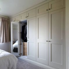 TW Bespoke - Fitted Furniture, Fitted Wardrobes, Carpentry, Joinery in Burton on Trent Bedroom Built In Wardrobe, Bedroom Built Ins, Fitted Bedroom Furniture, Fitted Bedrooms, Bedroom Closet Design, Wardrobe Closet, Wardrobe Design, Tiny Bedrooms, Fitted Bedroom Wardrobes