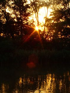 Sunset on the River 2