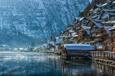 """Learn Something on Twitter: """"This is what Hallstat, Austria looks like. https://t.co/GIZAf2wETK"""""""