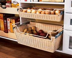 pantry storage in laundry room