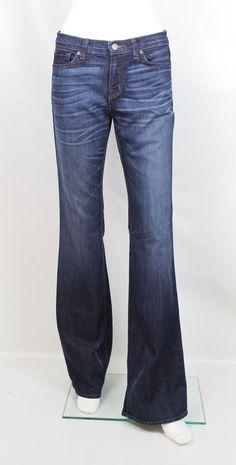 J Brand High Tide Medium Wash Flared Premium Denim Jeans Size 28 Retail $215 #JBrand #Flare