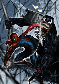 #Spiderman #Fan #Art. (Venomous) By: ExAequo94. (THE * 5 * STÅR * ÅWARD * OF: * AW YEAH, IT'S MAJOR ÅWESOMENESS!!!™)[THANK Ü 4 PINNING<·><]<©>ÅÅÅ+(OB4E)
