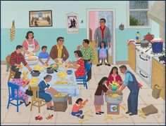 Welcome to the official site for Carmen Lomas Garza, a Chicana narrative artist who creates images about the everyday events in the lives of Mexican Americans based on her memories and experiences in Texas and California.