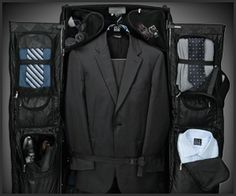 Every traveler needs this :) leRned this on my mission. Jos. A. Bank Rolling Garment Bag