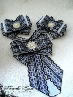 (99+) Одноклассники Fabric Bows, Ribbon Bows, Fabric Flowers, Brooch Corsage, Hair Brooch, Hair Barrettes, Hair Bows, Elegant Girl, Bow Tutorial