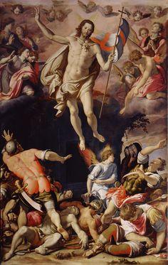 Santi di Tito (1536-1603) - Resurrezione - 1565 - Basilica di Santa Croce, Firenze
