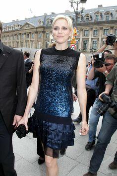 Designer: Louis Vuitton Occasion: Louis Vuitton boutique opening as a part of Paris Fashion Week   - TownandCountryMag.com