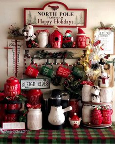 Rae Dunn Christmas 2020 Canister 1028 Best Christmas Decorations and Rae Dunn Christmas images in